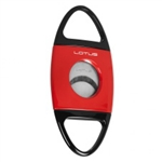 Lotus Jaws Serrated Cigar Cutter Red & Black - CUT602