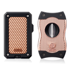 Colibri Rally & SV-Cut Gift Set Black/Rose Gold - GS360T03