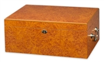 Humidor - Tuscany Light Burl Medium - HUM-100LB