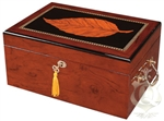 Humidor - Deauville Tobacco Leaf Medium Maple - HUM-100TY