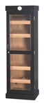 Humidor - Cigar Tower Black Oak 5 Shelf Unit - HUM-2000BLK-S