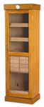 Humidor - Commercial Tower Oak With Drawers - HUM-2000D