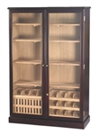 Humidor - Commercial Display 4000 Dark Mahogany - HUM-4000