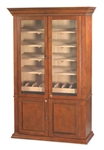 Humidor - Commercial Display 5000 Antique Walnut - HUM-5000