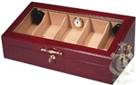 Humidor - Commercial Display 4 Cherry Wood - HUM-DIS4