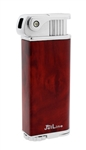Jetline Bolla Pipe (Soft Flame) Lighter Redwood