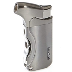 Jetline Dante Single Torch Lighter Gunmetal