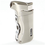 Jetline Dante Single Torch Lighter Silver