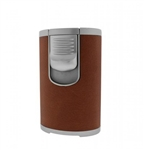 Jetline DT-101 (Desk Top) Quad Torch Lighter Light Brown