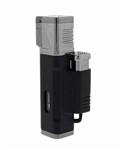 Jetline El Grande Quad Torch Lighter Black