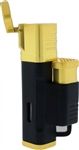 Jetline El Grande Quad Torch Lighter Black/Gold