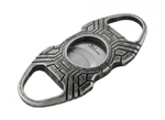 Jetline Rodeo Cigar Cutter Silver