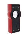 Jetline Touch Quad Torch Flame Lighter Red
