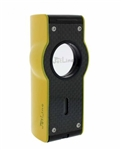 Jetline Touch Quad Torch Flame Lighter Yellow