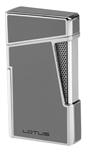 Lotus Lighter - Apollo 48 Metallic Gray & Polished Chrome - L4850