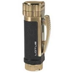 Lotus Lighter - Rogue Black/Gold & 8mm Cigar Punch - L5020