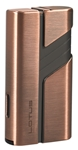 Lotus Hercules L62 Double Jet Lighter w/Cigar Punch Dark Copper/Gunmetal - L6220