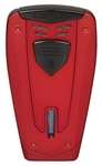 Lotus Lighter - Fusion L67 Triple Jet w/ Cigar Punch Red/Black - L6730