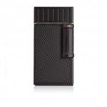 Colibri Lighter - Julius Flint Double Flame Black - LI221C1