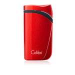Colibri Lighter - Falcon Single Jet (Metallic) Red - LI310T12