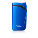 Colibri Lighter - Falcon Single Jet (Metallic) Blue - LI310T13