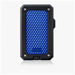 Colibri Rally Single Jet Flame Lighter Black & Blue