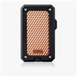 Colibri Rally Single Jet Flame Lighter Black & Rose Gold