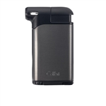 Colibri Pacific Air Pipe Flame Lighter Gunmetal & Black - LI400C8