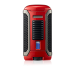 Colibri Apex Single Jet Flame Metallic Red - LI410T3