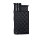 Colibri Lighter - Evo Angled Single Jet Black - LI520C1