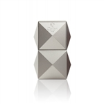 Colibri Quasar Table Triple Flame Lighter Silver - LI710T2
