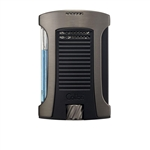 Colibri Daytona Single Jet Lighter Gunmetal/Black - LI770T2