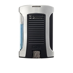 Colibri Daytona Single Jet Lighter Brushed Chrome/Black - LI770T3