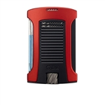 Colibri Daytona Single Jet Lighter Red/Black - LI770T4