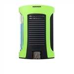 Colibri Daytona Single Jet Lighter Green/Black - LI770T6