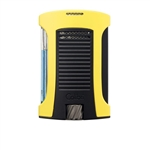 Colibri Daytona Single Jet Lighter Yellow/Black - LI770T7