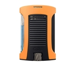 Colibri Daytona Single Jet Lighter Orange/Black - LI770T8
