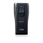 Colibri Monaco Triple-Flame Lighter (Metallic) Black - LI880T5