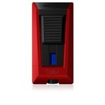 Colibri Lighter - Stealth 3 Jet Flame Metallic Red - LI900T3