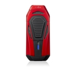 Colibri Lighter - Boss Red & Black Triple Jet w/ Cutter - LI950T3