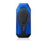 Colibri Lighter - Boss Blue & Black Triple Jet w/ Cutter - LI950T4
