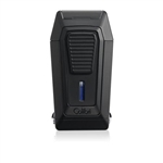 Colibri Quantum Triple Jet All Black Lighter w/ V-Cut - LI970C1
