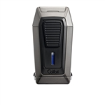 Colibri Quantum Triple Jet Gunmetal Lighter w/ V-Cut - LI970C3