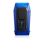 Colibri Quantum Triple Jet Blue/Black Lighter w/ V-Cut - LI970C5