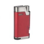 Vertigo Bullet Double Torch Matte Red/Gunmetal - VERTBULLRED
