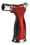 Vertigo Lighter - Raptor Triple Flame Tabletop Red Satin - VRRS
