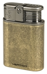 Vertigo Stealth Antique Triple Flame Table Lighter Brass - VSTEALTHBBRASS
