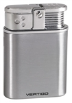 Vertigo Stealth Triple Flame Table Lighter Brsh Chrome - VSTEALTHBCRM