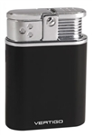 Vertigo Stealth Triple Flame Table Lighter Black - VSTEALTHBLK