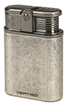 Vertigo Stealth Antique Triple Flame Table Lighter Pewter - VSTEALTHBPEW